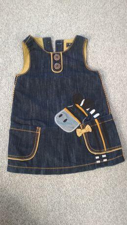 Sukienka jeansowa 86 firmy NEXT