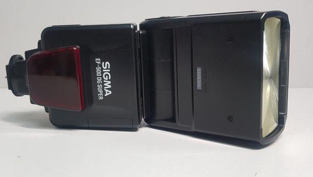 вспышка TTL sigma EF-500 DG super для canon