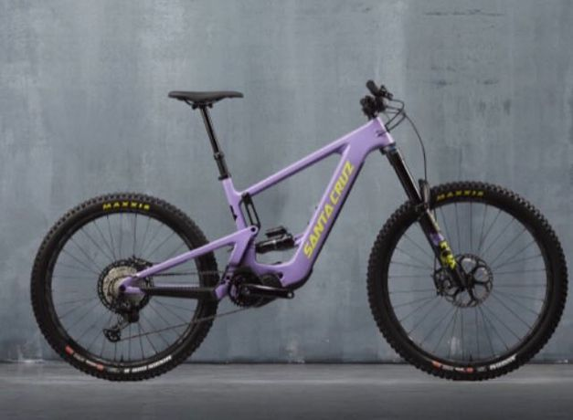 bicicleta elétrica santa cruz bullit