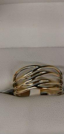 złoty pierścionek rozwiane włosy próba 585 zapraszam