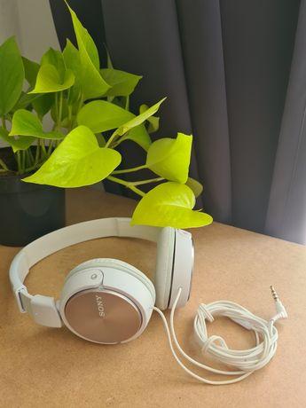 Słuchawki nauszne SONY MDR-ZX310AP (biały)