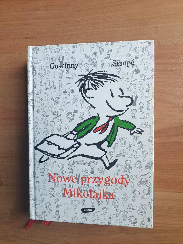 Nowe przygody Mikołajka - Goscinny Sempe - twarda okładka, bdb Wrocław - image 1