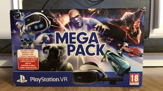 PlayStation VR kompletny zestaw w idealnym stanie PS4.wersja V2