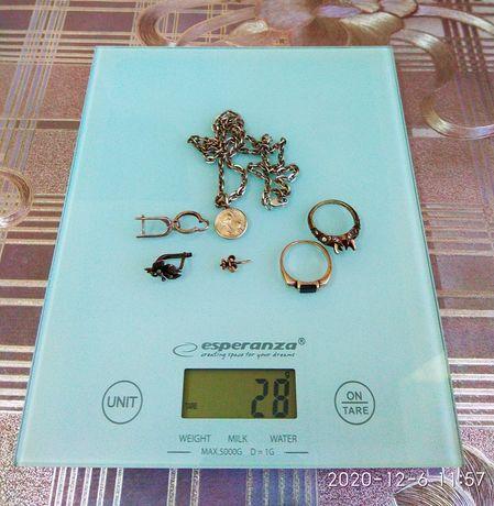 Серебро 925 кольца, цепочка
