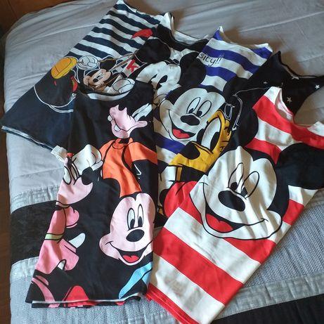 Lote 6 túnicas de senhora tamanho 3XL