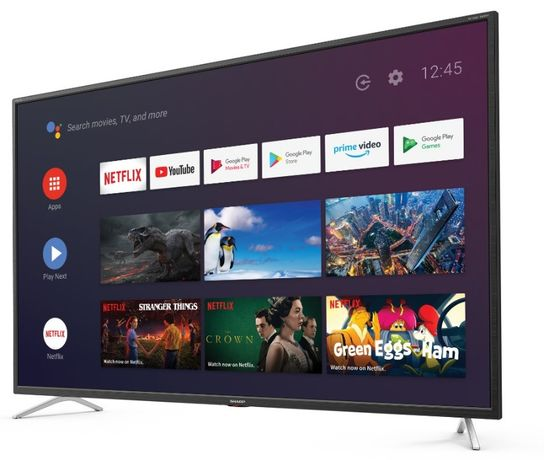 Telewizor Sharp 50BL5EA: 4K UHD, Matryca LED, WiFi, Smart Tv