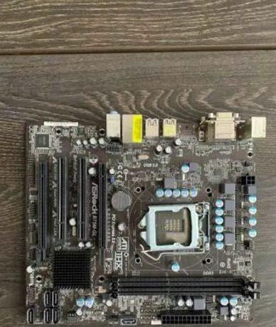 Комплект Asrock b75M-GL + I3 2100 3,1 МГц + 8 gb DDR3 1600