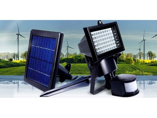 Lampa solarna halogen led