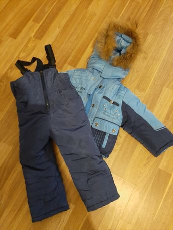 Зимний комбез и куртка