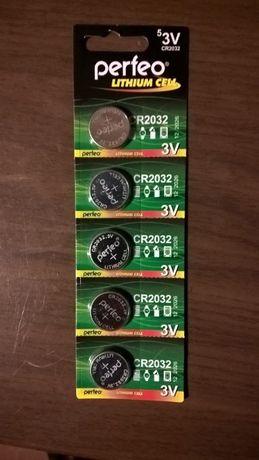Батарейки CR2032, 3V (для материнских плат, калькуляторов и др)