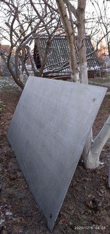 Плита шиферна 3/1.5 м./10 мм./90 кг.
