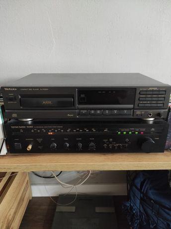 Sprzedam amplituner Harman/Kardon + odtwarzacz CD-R Technics