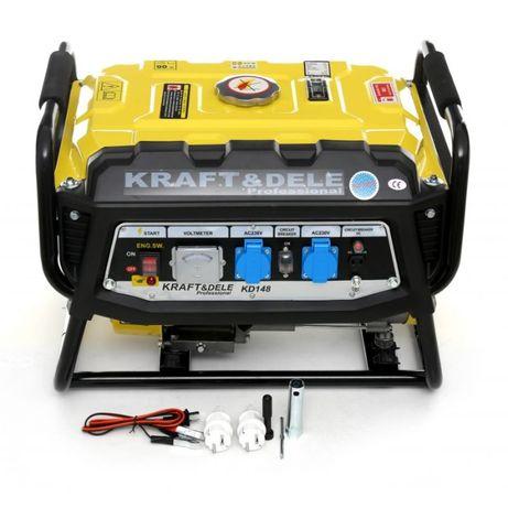 Agregat prądotwórczy generator prądu 3500W 3,5kW AVR 230V 7HP