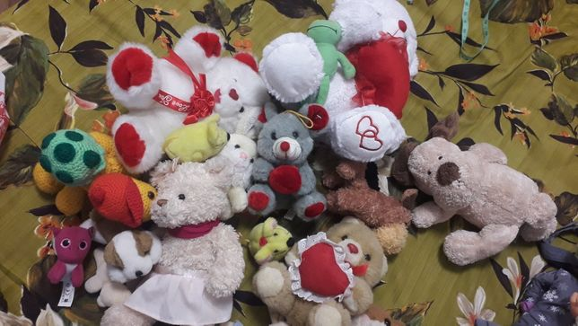 Іграшки м'які 50 грн