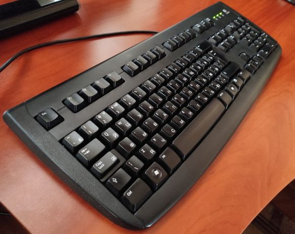 Клавиатура Logitech Deluxe 250 Keyboard USB Black