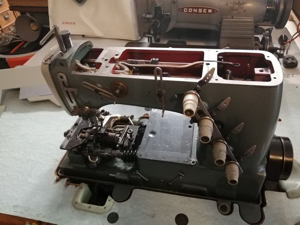 Reparação de máquinas de costura domésticas e indústrias