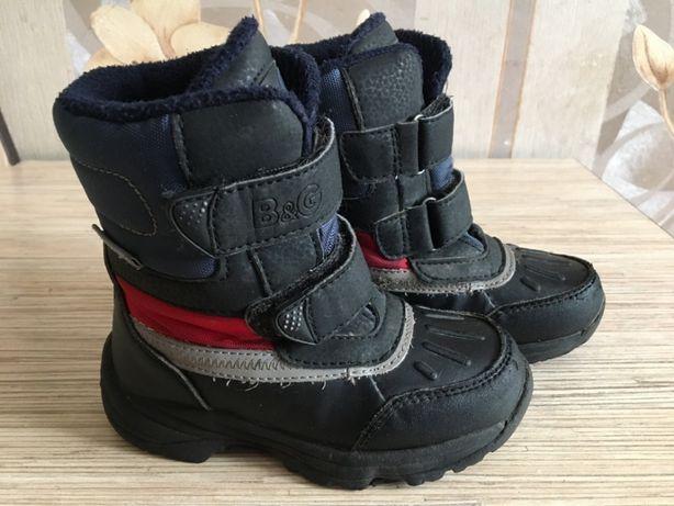 Зимове взуття для хлопчика