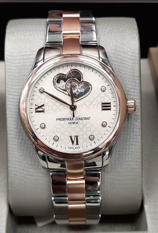 Zegarek Frederique Constant Ladies Automatic Heart Beat Diamonds