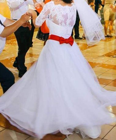 Suknia ślubna MARIFELD + koło