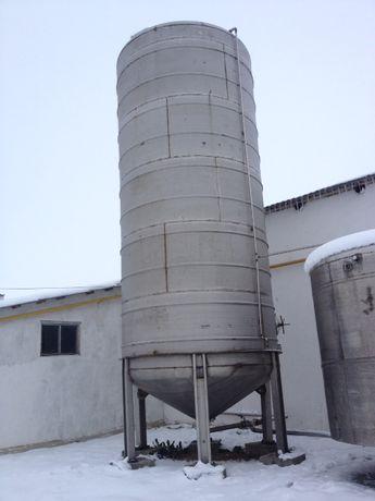 50 м.куб. н/ж нержавеющая емкость пищ. б/у резервуар