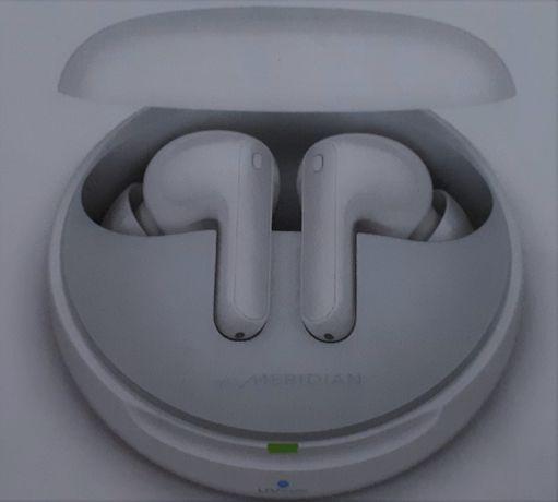 Nowe słuchawki LG TONE Free HBS-FN7 - białe