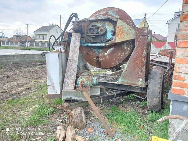 Бетономішалка до трактора