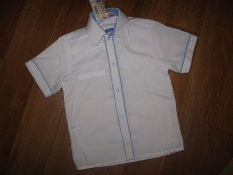Рубашка тенниска белая новая с этикеткой
