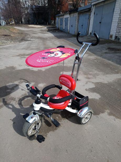 Продам детский велосипед ,трёхколёсный велосипед,велосипед для девочки