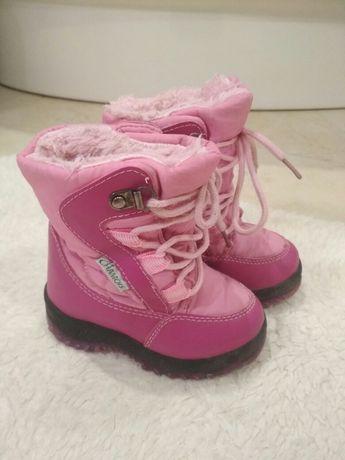 Зимові чобітки, сапожки дитячі