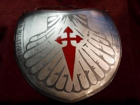 ryngraf, krzyż, herb - Santiago zakon rycerski Św. Jakuba, do szabel