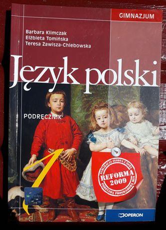Podręcznik do języka polskiego dla gimnazjum 1
