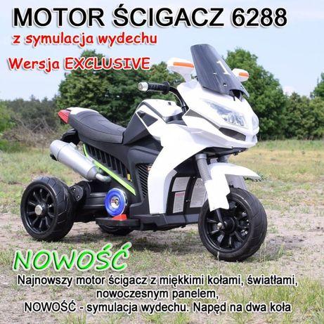 Motor na akumulator dla dziecka 3 kołowy ścigacz skuter