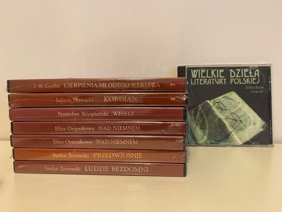 Zestaw audiobooków Kordian, Wesele, Przedwiośnie, Nad Niemnem i inne Kraków - image 1