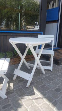Стол столик для кофейни круглый раскладной журнальный туристический