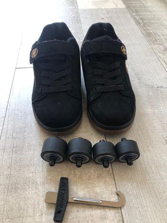 Sapatos com rodas heelys