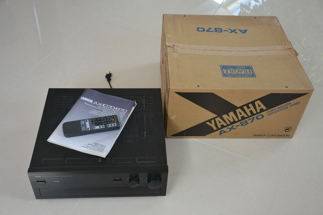 Wzmacniacz YAMAHA AX-870 gratka dla audiofila - kolekcjonera.