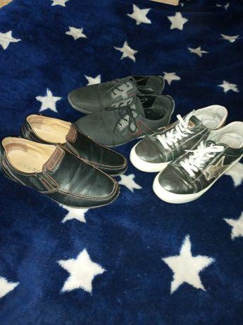 Детская кожанная обувь,36р,за всё.Срочно!!!