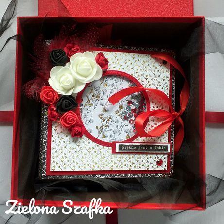 Album foto scrapbooking, prezent, święta, urodziny, ślub