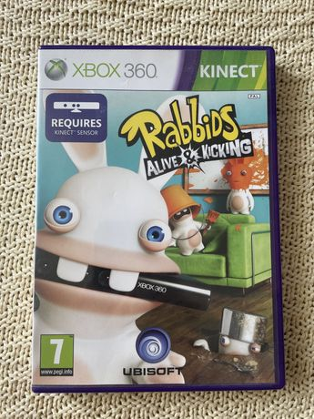 "Gra ""Rabbids alive & kicking"" kinect Xbox 360"