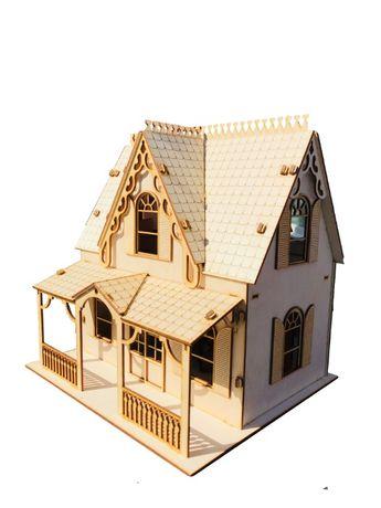 Domek dla lalek lol suprise Drewniany