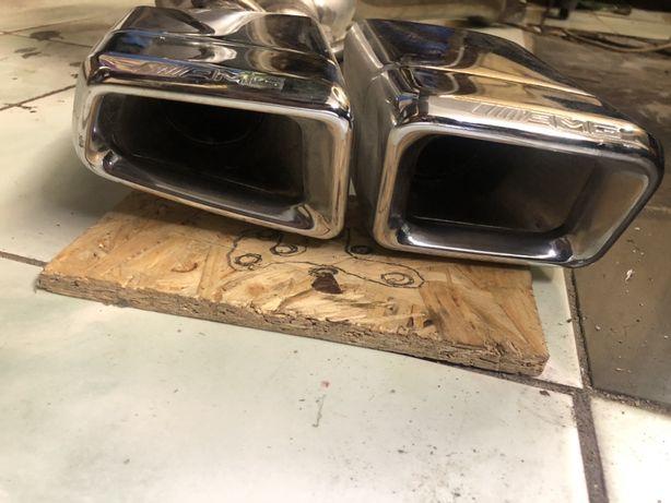 Оригинальный выхлоп Mercedes AMG