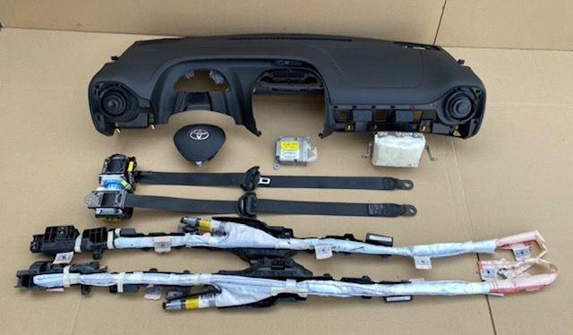 Toyota Aygo tablier airbags cintos