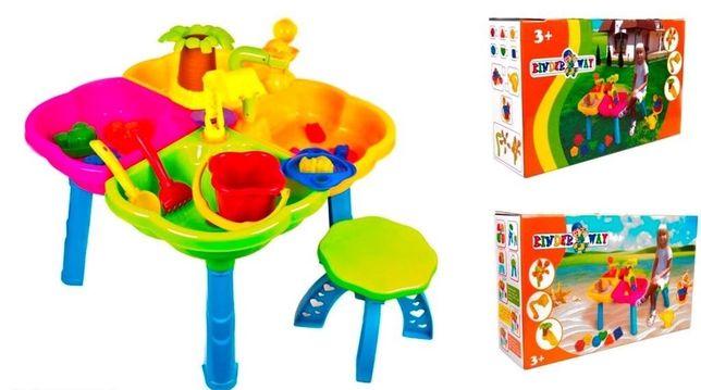 Акция ! New! Игровой песочный столик, Kinder Way! Песочница !