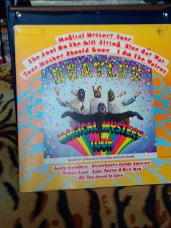 The Beatles-magical mystery tour Конверт