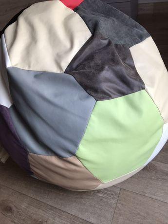 Кресло мешок «Мяч», декоративные подушки