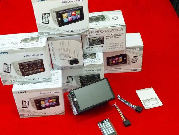 """Rádio DVD - 7 """" Polegadas - USB MicroSD Bluetooth"""