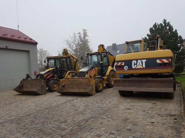 Usługi koparka koparko-ładowarka, wywrotka, wykopy kucie betonu, wywóz