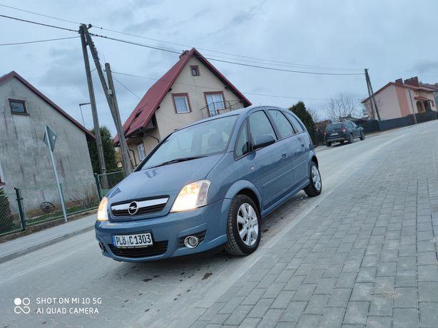 Opel Meriva 1.6 2007r. LIFT (tempomat ,grz.fotele ,el. składane lus.)