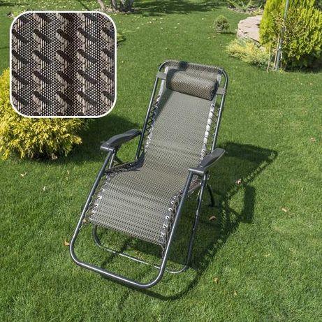 Качественный Польский шезлонг кресло раскладушка кровать 3в1