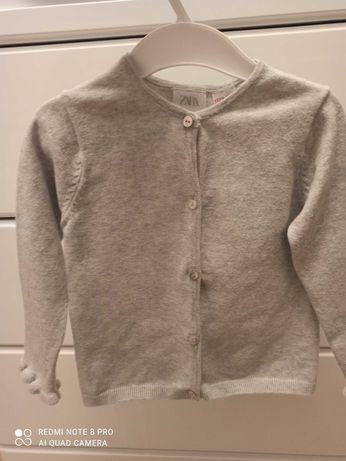 Sweterek dziewczęcy, Zara rozmiar 98,
